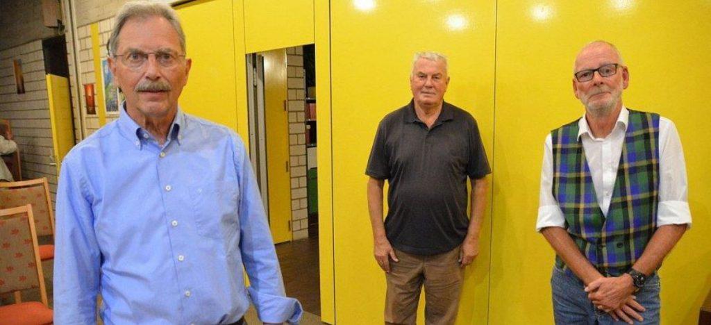 Neuer Vorstand: Ulrich Armeit, Karl-Heinz Bubel und Eckhard Kornfeld (Foto: K. Prignitz)